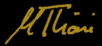 Signatur – Marco Thöni